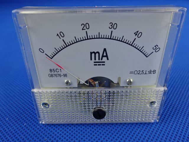 Peças para Maquina á Laser em MG: Peças para Maquina á Laser em Campanha Mg: Amperímetro 50MA em Campanha