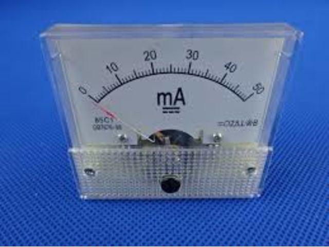 Peças e Acessórios: Diversos : Amperimero 50 MA para Máquina laser