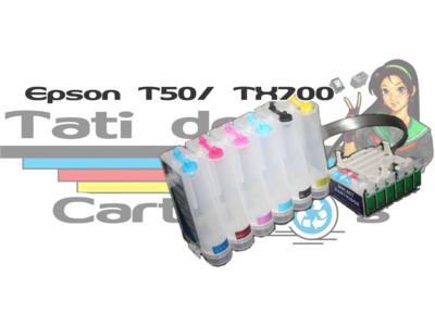 Bulk Ink: Bulk Ink Epson: Bulk InkT50 / TX700W