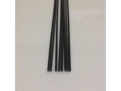Produtos em Destaque: VARETA QUADRADA EM ABS 3mm X 3mm X 1000 PCT/ 10 UNID  COR FERRO